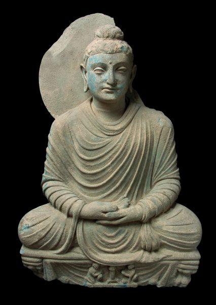 Bouddha en méditation (Gandhara)