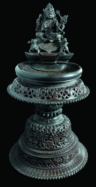 Lampe Shiva Parvati