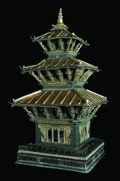 Reproduction de pagode népalaise