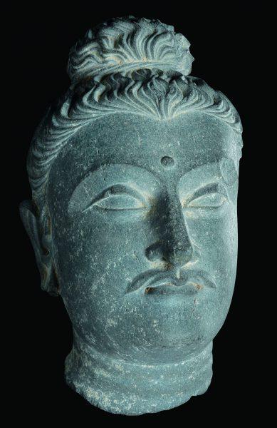 Tête de Bodhisattva