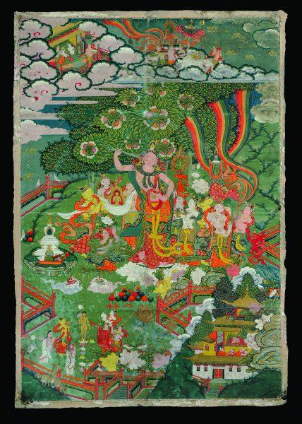 Naissance du Bouddha (thangka)