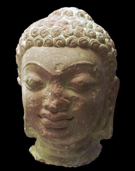 Visage de Bouddha gupta